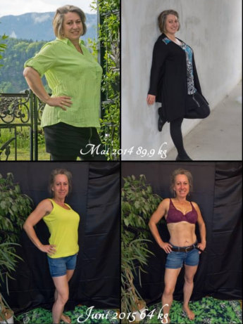 Freeletics Transformation Alexandra vorher nachher