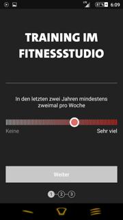 Freeletics Gym Coach Fitnesstest Training