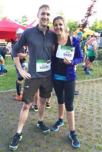 Trail Run Heike und Marcel