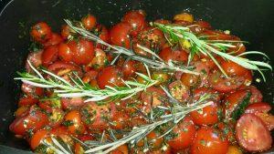 High Carb Tomatensuppe aus dem Bräter