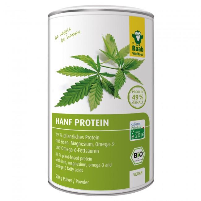 Raab vitalfood veganes proteinpulver test hanfprotein