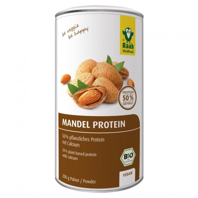 Raab vitalfood veganes proteinpulver test mandelprotein