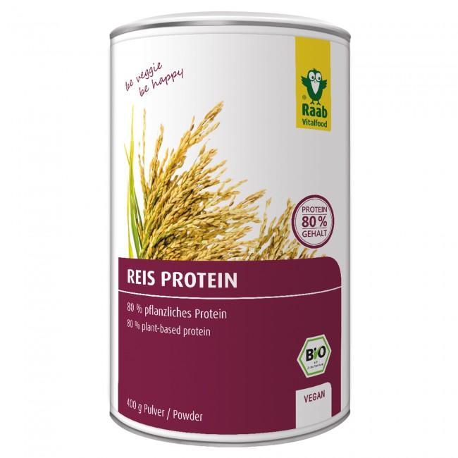 Raab vitalfood veganer proteinpulver test reisprotein