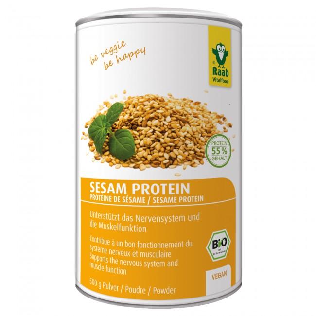 Raab vitalfood veganes proteinpulver test sesamprotein