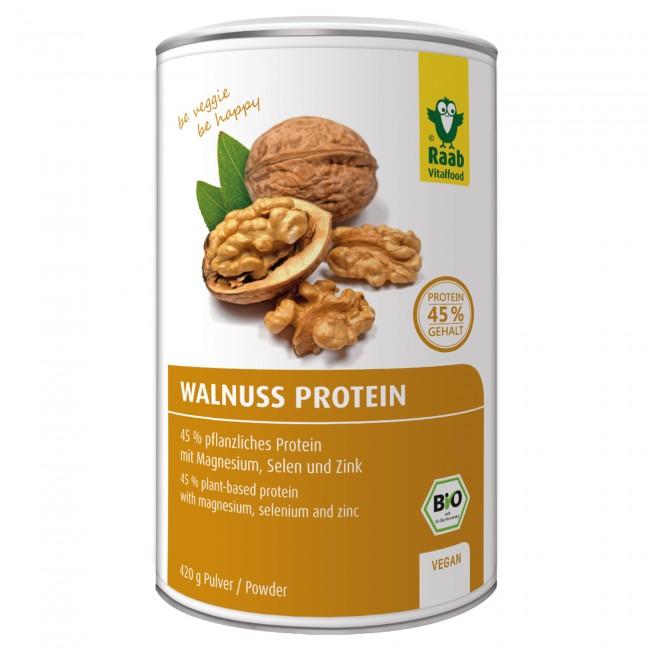 Raab vitalfood veganes proteinpulver test Walnussprotein