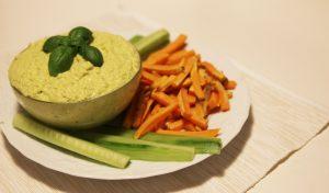 lupinen-rezepte vegan hummus lupinen dip snack
