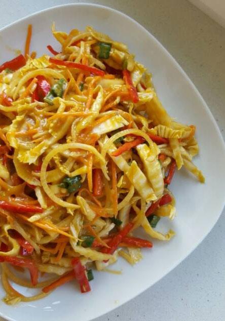 rohkost pad thai rezept vegan freeletics