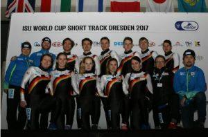 short track deutsches nationalteam