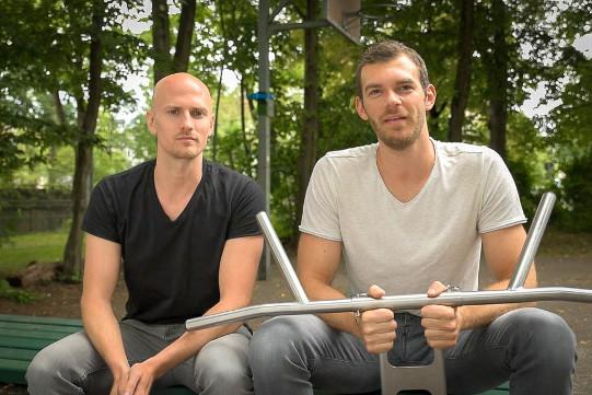 outdoor Klimmzugstange pullup-dip Erfinder Micheal und Johannes