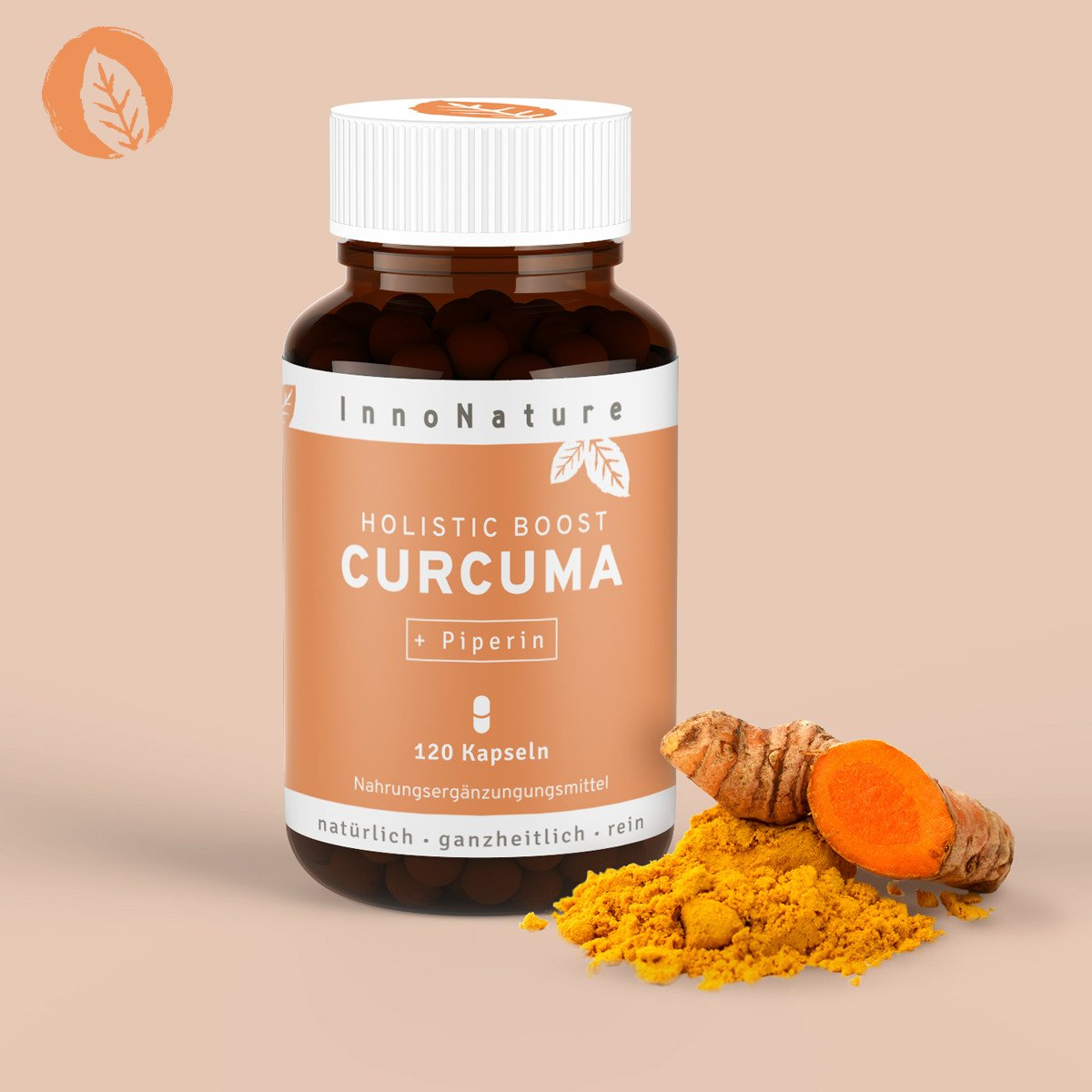vegane Nahrungsergänzungsmittel - Curcuma InnoNature