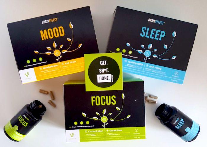 BRAINEFFEKT Erfahrung MOOD FOCUS SLEEP Wirkung