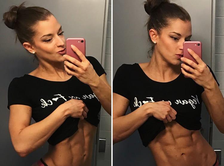 Muskelaufbau Frauen-Katharina