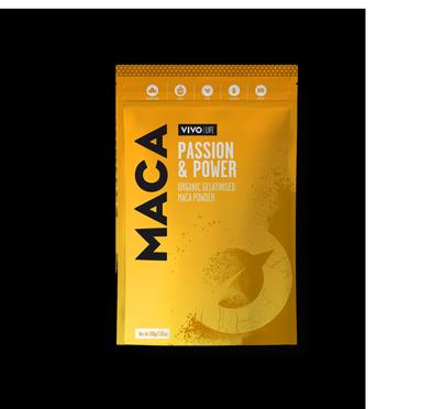 Vivo Life organisch geliertes Maca Pulver