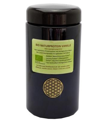 Regenbogenkreis-Bio-Naturprotein-Vanille