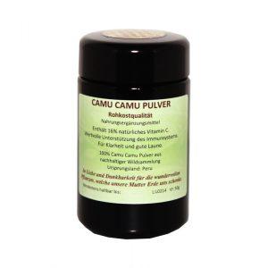 Superfood Pulver Regenbogenkreis Camu Camu
